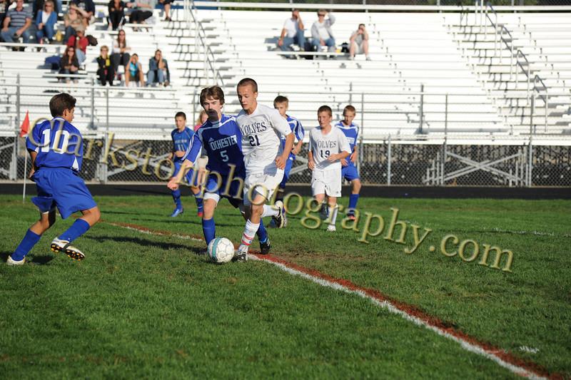 2010 Freshman Soccer vs  Rochester Image 014