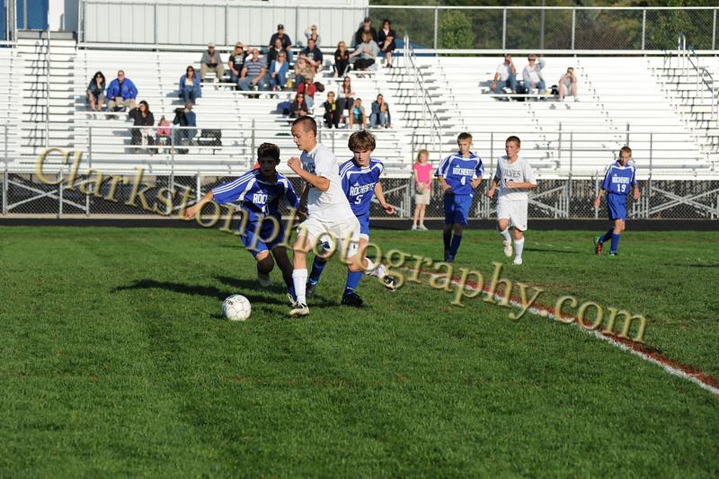 2010 Freshman Soccer vs  Rochester Image 016