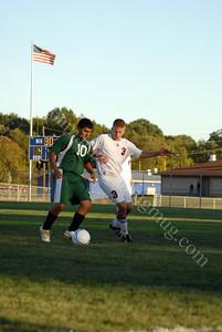 Benton Central vs Harrison High School Soccer September 30, 2010