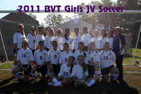 2011 BVT Girls JV Soccer Team