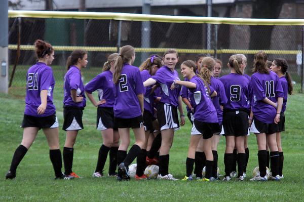 Girls JV at Keefe Tech