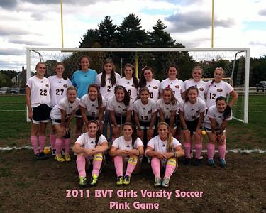 Pink Game - Girls Varsity vs Douglas