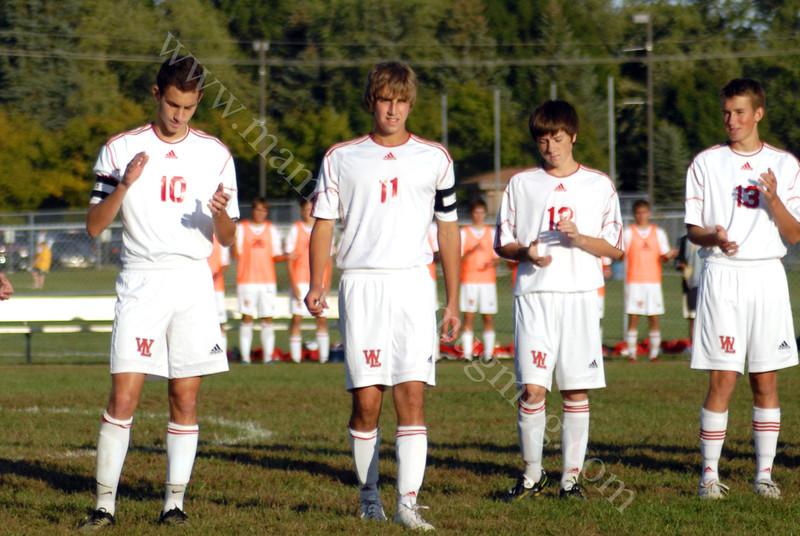 #11 Walker<br /> High School Soccer<br /> September 15, 2011<br /> Harrison Raiders<br /> vs<br /> West Lafayette Red Devils