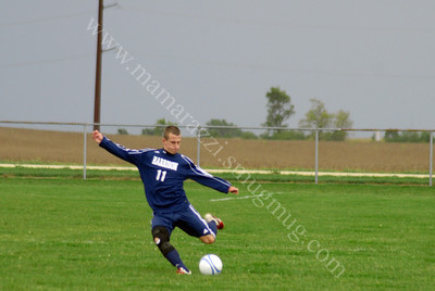 Benton Central vs Harrison Boys Soccer Game 9/29/11