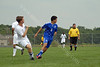 #15 Alex<br /> High School Soccer<br /> September 10, 2011<br /> Harrison Raiders<br /> vs<br /> Frankfort Hot Dogs