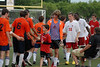 3602<br /> Pike vs Harrison<br /> Pike Players wearing white and red<br /> Hagen Soccer Classic 2011<br /> High School Soccer<br /> Preseason