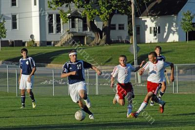 Rossville vs Central Catholic High School Soccer Game 9/21/11