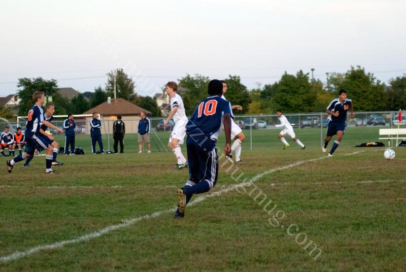 High School Soccer<br /> September 15, 2011<br /> Harrison Raiders<br /> vs<br /> West Lafayette Red Devils