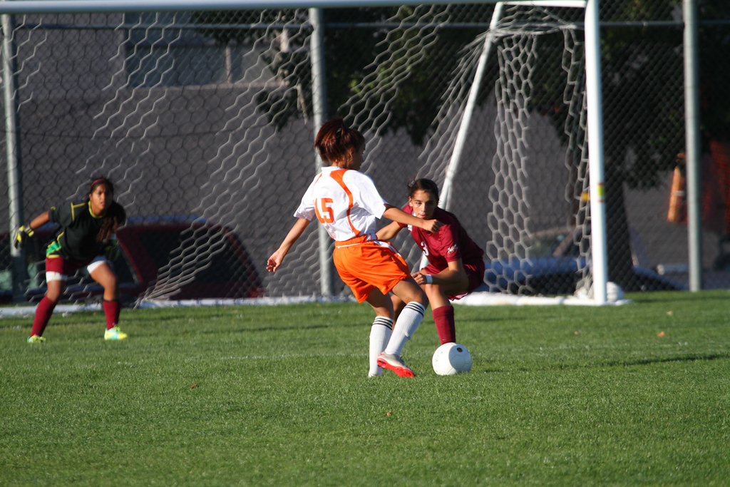 2nd Half<br /> Davis H.S. Soccer vs. Moses Lake