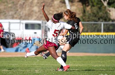 2012 La Serna Girls Soccer CIF game 1, 2/17/12