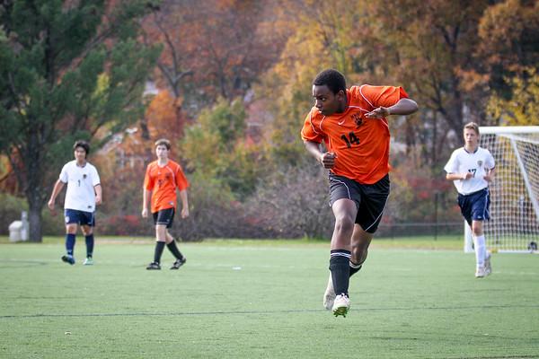 2012 NNHS JV Soccer vs. Lexington