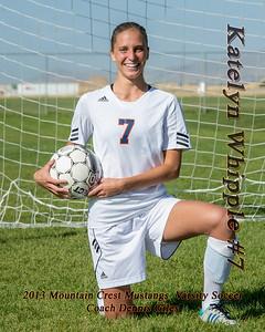 2013-10-01 MCHS Girls Soccer - Katelyn Whipple