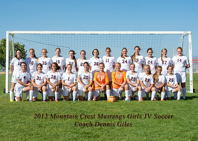 2013-10-01 MCHS Girls Soccer - Team-2
