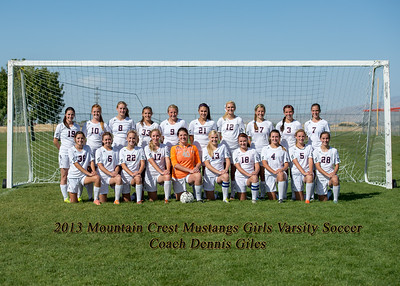 2013-10-01 MCHS Girls Soccer - Team