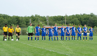 2013 High School Soccer Starting Line-ups