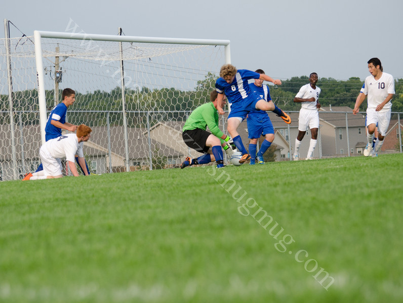 Harrison vs Carroll High School Soccer Photo #8327