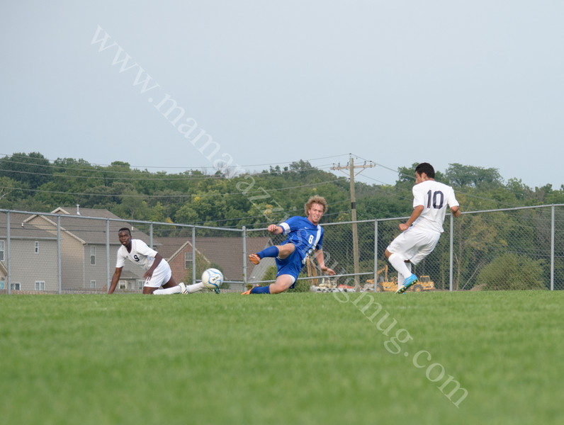Harrison vs Carroll High School Soccer Photo #8357