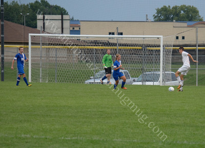 Carroll vs Harrison High School Soccer August 22, 2013