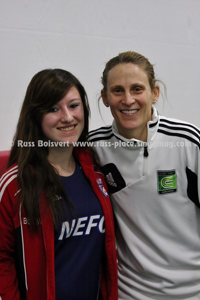 01 Kristine Lilly Former USWNT Captain Coerver Session 214