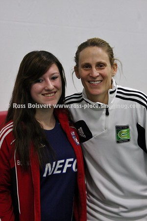 Kristine Lilly - Former USWNT Captain - Coerver Session