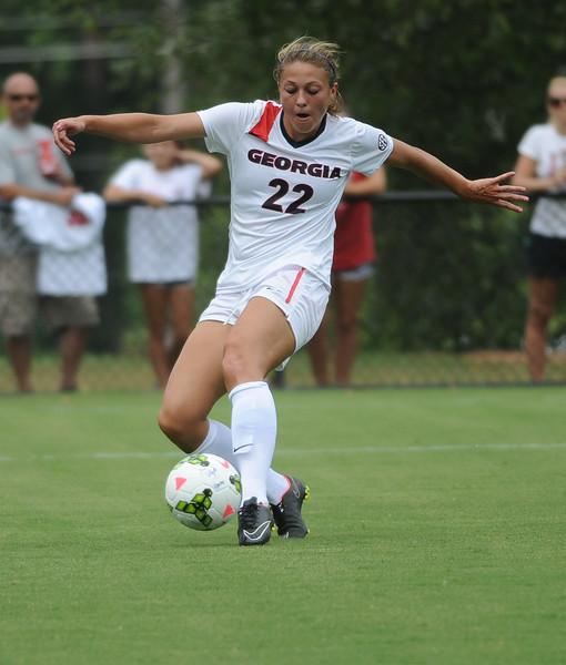 Kelsey Killean (22) - UGA soccer team (Photos by Sean Taylor / Georgia Sports Communication)