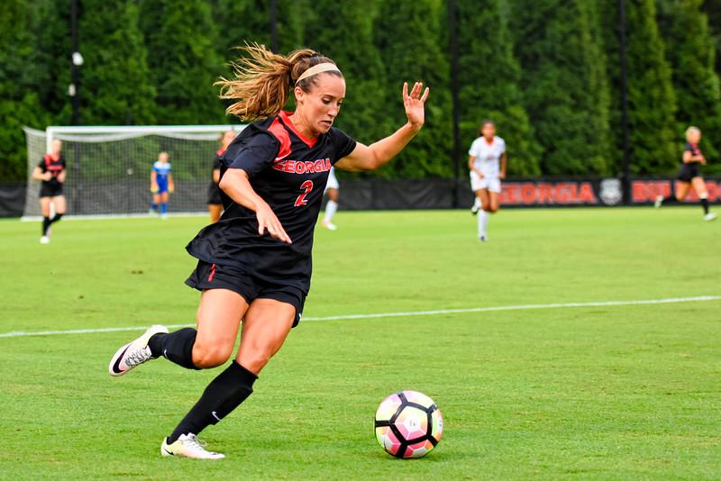 Georgia forward Marion Crowder (2) (Photo by David Barnes / Georgia Sports Communications)