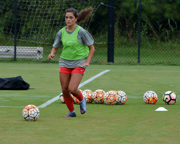 Georgia defender Anna Bougas (9) - UGA Women's Soccer Team -  (Photo from Georgia Sports Communication)
