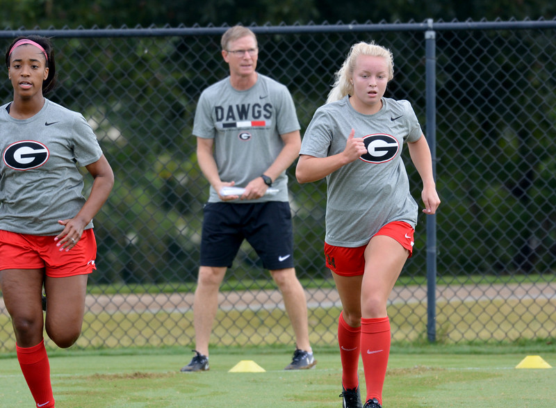 Forward Reagan Glisson (30) - UGA Soccer Team - (Photo Georgia Sports Communication)