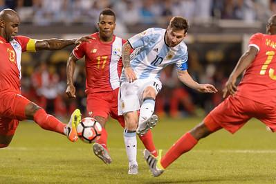 Argentina @ Panama Copa America Centenario @ Soldier Field 06.10.16