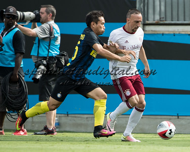 Yuto Nagatomo, Franck Ribery
