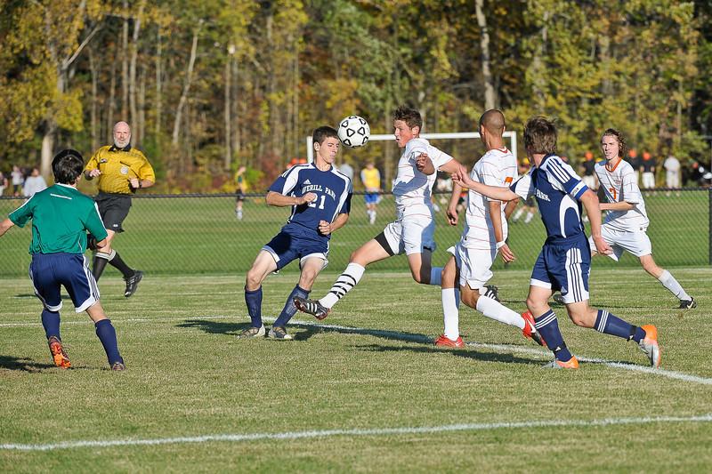 bchs boys var soc seniors Part 1-- vs APark 2010-10-12-17