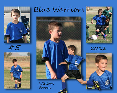 Blue Warriors Soccer 2012