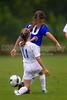 01 NRU GIRLS BLUE vs TCYSA U13 LADY TWINS RED<br /> Winston Salem Twin City Classic Soccer Tournament<br /> Saturday, August 17, 2013 at BB&T Soccer Park<br /> Advance, North Carolina<br /> (file 092800_BV0H9743_1D4)