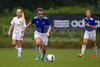 01 NRU GIRLS BLUE vs TCYSA U13 LADY TWINS RED<br /> Winston Salem Twin City Classic Soccer Tournament<br /> Saturday, August 17, 2013 at BB&T Soccer Park<br /> Advance, North Carolina<br /> (file 092748_BV0H9737_1D4)