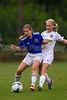 01 NRU GIRLS BLUE vs TCYSA U13 LADY TWINS RED<br /> Winston Salem Twin City Classic Soccer Tournament<br /> Saturday, August 17, 2013 at BB&T Soccer Park<br /> Advance, North Carolina<br /> (file 092801_BV0H9744_1D4)