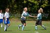 98 Lady Twins Red vs GRYSA Peruchas (U11)<br /> Saturday, September 12, 2009 at Sara Lee Soccer Complex<br /> Winston-Salem, North Carolina<br /> (file 121017_QE6Q0564_1D2N)