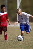 98 Twins Red vs NTFC Surry Strikeforce (U12)<br /> Saturday, October 16, 2010 at BB&T Soccer Park<br /> Advance, NC<br /> (file 124140_BV0H2136_1D4)