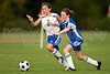 U12 LADY TWINS ROYAL vs LADY TWINS RED<br /> 2009 Winston-Salem Twin City Classic Soccer Tournament<br /> Friday, August 21, 2009 at BB&T Soccer Park<br /> Advance, North Carolina<br /> (file 190110_803Q0679_1D3)
