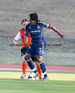 The Charlotte Eagles played the Chicago Fire Reserves at Transamerica Field On the campus of the University of North Carolina Charlotte.  The Fire won 3-2.