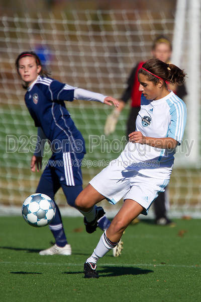 92 NCSF Elite G vs 92 MUFC Navy G<br /> USYS State Cup Group Play<br /> Saturday, October 30, 2010 at John B. Lewis Soccer Complex<br /> Asheville, NC<br /> (file 102207_BV0H3764_1D4)