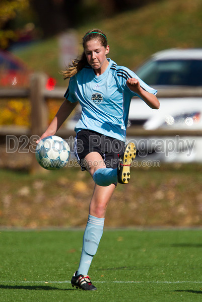 93 NCSF Elite G vs 93 CSA Copa G<br /> USYS State Cup Group Play<br /> Saturday, October 30, 2010 at John B. Lewis Soccer Complex<br /> Asheville, NC<br /> (file 134928_BV0H4680_1D4)
