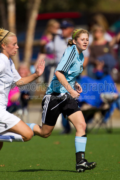 93 NCSF Elite G vs 93 CSA Copa G<br /> USYS State Cup Group Play<br /> Saturday, October 30, 2010 at John B. Lewis Soccer Complex<br /> Asheville, NC<br /> (file 144214_BV0H4911_1D4)