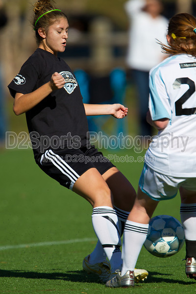 94 NCSF Elite G vs 94 NCSF Premier G<br /> USYS State Cup Group Play<br /> Saturday, October 30, 2010 at John B. Lewis Soccer Complex<br /> Asheville, NC<br /> (file 154158_BV0H5155_1D4)