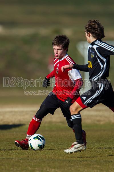 97 HFC RED vs CSA COBRAS GOLD 2013 Twin City Boys College Showcase Sunday, February 24, 2013 at BB&T Soccer Park Advance, North Carolina (file 091628_BV0H6807_1D4)