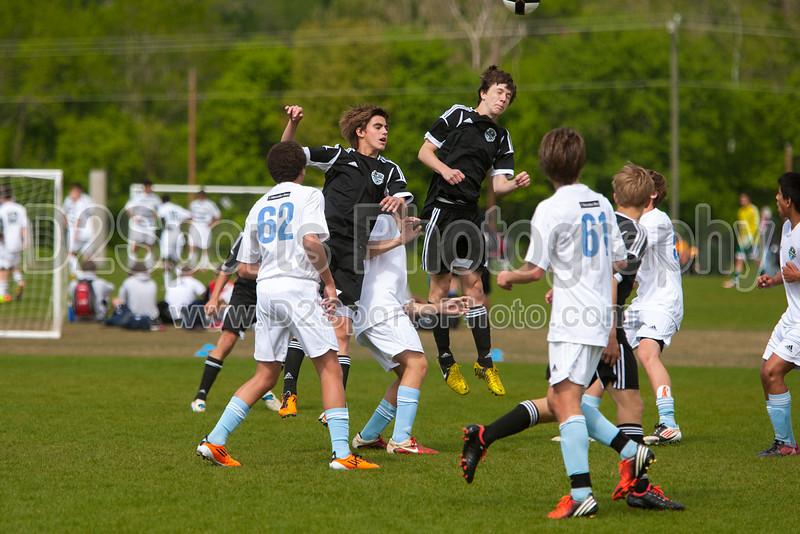 97 NCSF Elite vs 97 NCSF Premier USYS State Cup Preliminaries Saturday, May 04, 2013 at BB&T Soccer Park Advance, North Carolina (file 150203_803Q2742_1D3)