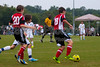 TCYSA TWINS WHITE vs 01 HFC WHITE Winston Salem Twin City Classic Soccer Tournament Saturday, August 17, 2013 at BB&T Soccer Park Advance, North Carolina (file 085736_803Q3429_1D3)