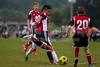 TCYSA TWINS WHITE vs 01 HFC WHITE Winston Salem Twin City Classic Soccer Tournament Saturday, August 17, 2013 at BB&T Soccer Park Advance, North Carolina (file 085936_803Q3442_1D3)