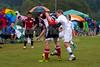 TCYSA TWINS WHITE vs 01 HFC WHITE Winston Salem Twin City Classic Soccer Tournament Saturday, August 17, 2013 at BB&T Soccer Park Advance, North Carolina (file 085541_803Q3420_1D3)