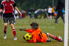 TCYSA TWINS WHITE vs 01 HFC WHITE Winston Salem Twin City Classic Soccer Tournament Saturday, August 17, 2013 at BB&T Soccer Park Advance, North Carolina (file 085433_803Q3417_1D3)