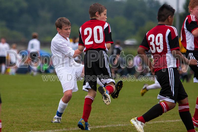 TCYSA TWINS WHITE vs 01 HFC WHITE Winston Salem Twin City Classic Soccer Tournament Saturday, August 17, 2013 at BB&T Soccer Park Advance, North Carolina (file 090216_803Q3454_1D3)